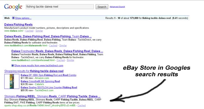 ebay-store-categories